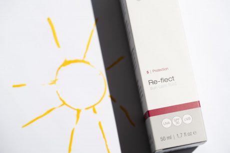 bdr re-flect spf 30 kremas nuo saules spinduliu