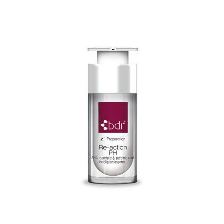 kosmetika BDR re-action ph aha migdolu rugtis gintaro rugstis rugstinis pilingas