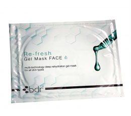 bdr re-fresh gel mask geline kauke visu tipu veido odai
